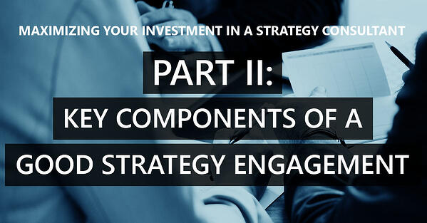 Part II – Components of a successful competitive strategy engagement