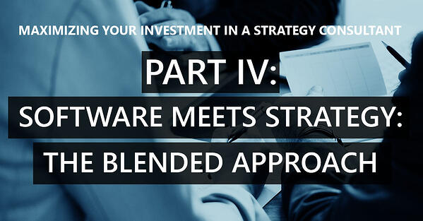 Part IV – Where software meets strategy, the blended approach