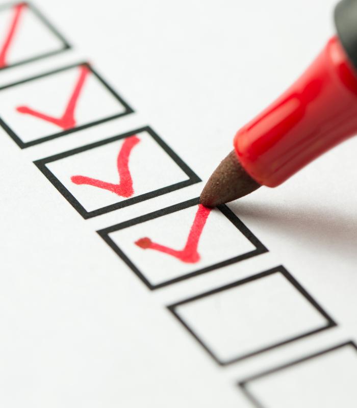 CI Process Checklist