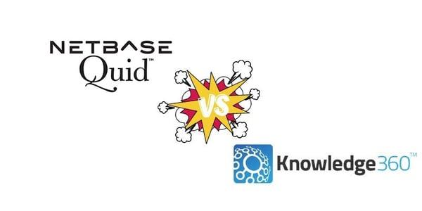 Competitive Intelligence Software Comparison: Quid vs. Knowledge360