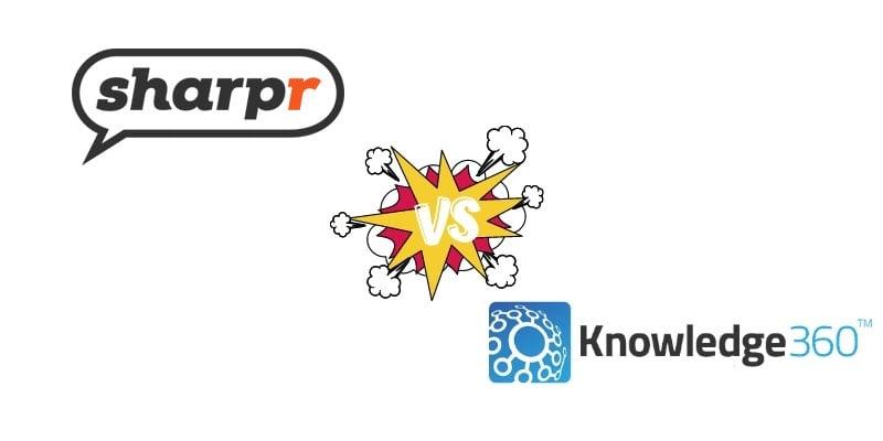 Competitive Intelligence Software Comparison: Sharpr vs. Knowledge360