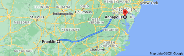 Franklin to Annapolis