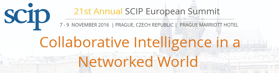 Cipher Sponsors SCIP European Summit November 7 9 in Prague