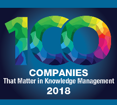 Cipher Named a Top 100 Company in Knowledge Management