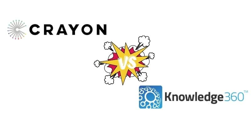 Crayon Intel vs. Knowledge360 vs. Kompyte Competitor Analysis Software