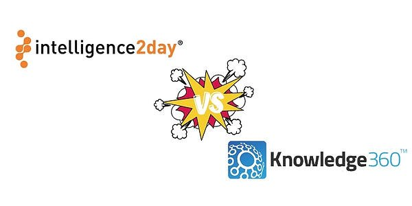 Competitive Intelligence Software Comparison: Intelligence2day vs. Knowledge360