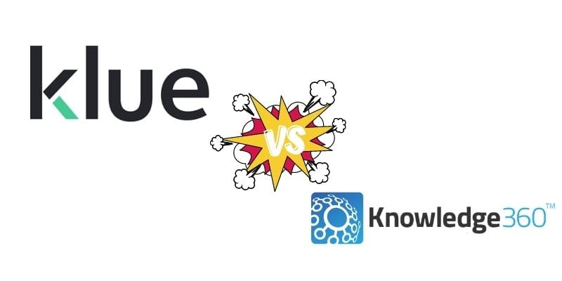 Competitive Intelligence Software Comparison: Klue vs. Knowledge360