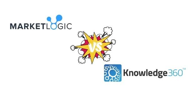 Competitive Intelligence Software Comparison: Market Logic vs. Knowledge360