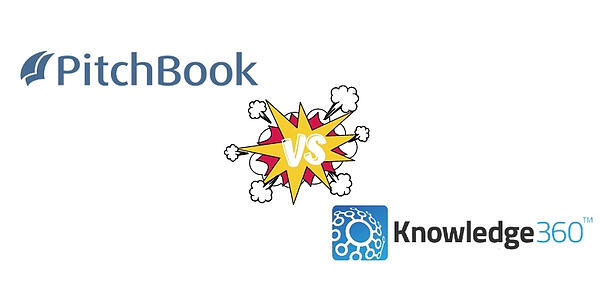 Competitive Intelligence Software Comparison: Pitchbook vs. Knowledge360