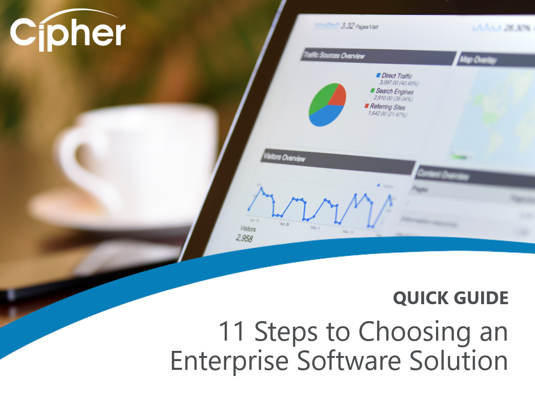 11 Steps to Choosing an Enterprise Software Solution QUICK GUIDE