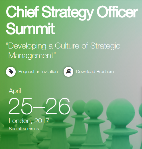 Cipher Sponsors Chief Strategy Officer Summit in London April 25 26